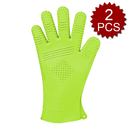 Aspire 2PCS Silicone Heat Protection BBQ Glove Set, Grill Oven Gloves
