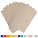 Aspire SET OF 8 Outdoor & Indoor Insulation Placemat, Solid Color