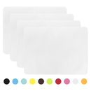 Aspire 4Pcs Kitchen Food Grade Silicone Pastry Mat, Nonstick Baking, Oven Fondant Mats, Place Mat