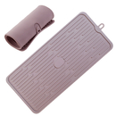 GOGO Silicone Dish Drying Mat Large Counter Top Drainer Mat, Sink Draining Tray