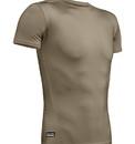 Under Armour 12160074993XL Tactical HeatGear Compression Short Sleeve T-Shirt, Federal Tan, Length-Regular, 3X-Large