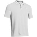 Under Armour 1242755100LG UA Performance Polo, White, Large