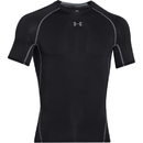 Armour HeatGear Shortsleeve Compression, Black, Large