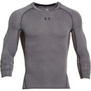 Armour HeatGear Longsleeve Compression, Carbon Heather, Large