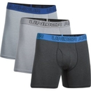 Under Armour 12772790385XL Charged Cotton Stretch 6in Boxerjock 3-Pack, Steel/Anthracite/Steel, 5X-Large