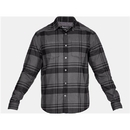 Under Armour 1297263019XL UA Borderland Flannel, Charcoal, X-Large
