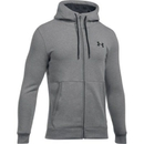 Under Armour 1299134025LG UA Threadborne Fleece Full Zip Hoodie, True Gray Heather, Large