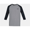 Under Armour 1300298035LG Ridge Reaper 3/4 Sleeve Shirt, Steel, Large