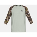 Under Armour 1300298502XL Ridge Reaper 3/4 Sleeve Shirt, Olive Tint, X-Large