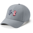 Under Armour 1311427035L/XL UA Freedom Blitzing Cap, Steel, Large/X-Large