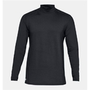 Under Armour 1316935465XXL UA Tactical Mock Base Long Sleeve Shirt, Dark Navy Blue, 2X-Large