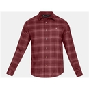 Under Armour 1317717647LG UA Tradesman Flannel, Brick Red, Large