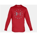 Under Armour 1323105600XXL UA Freedom Tech Terry Hoodie, Red, 2X-Large