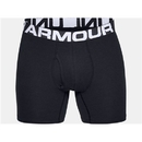 Under Armour 1327426001SM Charged Cotton Boxerjock 6''3-Pack, Black, Small