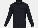 Under Armour 1327454001SM UA Tac Hunter Long Sleeve Shirt, Black, Small