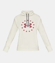 Under Armour 1327467110XS Women's UA Freedom Funnel Neck Shirt, Summit White, X-Small