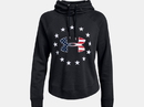 Under Armour 1332413001SM Women's UA Freedom Logo Favorite Hoodie, Black, Small