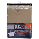 5.11 Tactical 5-40016165S Utili-T Crew T-Shirt 3 Pack, Acu Tan (165), Small