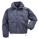 5.11 Tactical 48017-724-L-T 5-In-1 Jacket, Dark Navy, Length-Tall, Large