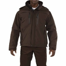 5.11 Tactical 48153-108-L Valiant Duty Jacket, Brown, Length-Regular, Large