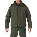 5.11 Tactical 48153-890-4XL Valiant Duty Jacket, Sheriff Green, Length-Regular, 4X-Large