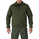 5.11 Tactical 48167-890-L Valiant Soft Shell Jacket, Sheriff Green, Large