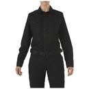 5.11 Tactical 62010-019-S-R Women's Stryke Class-B PDU Long Sleeve Shirt, Black, Length-Regular, Small