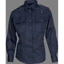 5.11 Tactical 5-62365750LR Women's Tclt Pdu L/S A-Cl Shr, Midnight Navy (750), Large Regular, Class A Shirt