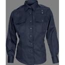5.11 Tactical 5-62366750SR Women's Tclt Pdu L/S A-Cl Shr, Class B Shirt, Small Regular, Midnight Navy (750)