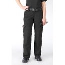 5.11 Tactical 5-643690194L Women's Taclite Ems Pants, 4, Long, Black (019)