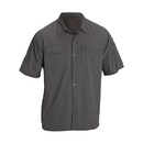 5.11 Tactical 71340-092-S Freedom Flex Woven Shirt, Storm, Small