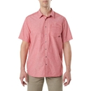 5.11 Tactical 71372-488-M Ares S/S Shirt, Engine Red, Medium