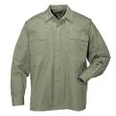 5.11 Tactical 72002-190-S-R Ripstop TDU Shirt, TDU Green, Small
