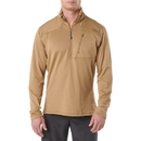 5.11 Tactical 72045-120-S Recon Half-Zip Fleece, Coyote, Small