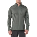 5.11 Tactical 72045-182-S Recon Half-Zip Fleece, OD Green, Small