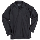 5.11 Tactical 72049T-019-2XL Performance Long Sleeve Polo, Black, Length-Tall, 2X-Large