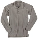 5.11 Tactical 72049T-160-2XL Performance Long Sleeve Polo, Silver Tan, Length-Tall, 2X-Large