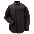 5.11 Tactical 72175T-019-5XL Taclite Pro L/S Shirt, Black, Length-Tall, 5X-Large