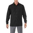 5.11 Tactical 72417-019-XL Freedom Flex Woven Shirt, Black, X-Large