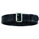 Bianchi 22233 Accumold Elite Duty Belt, Chrome, Basketweave, 48