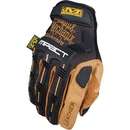 Mechanix Wear LMP-75-011 Leather M-Pact Gloves, Brown, X-Large