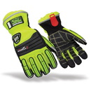 Ringers Gloves 327-12 Esg Barrier One Glove, 2X-Large, Hi Vis