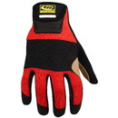 Ringers Gloves 355-10 Rope Rescue Glove, Large, Red
