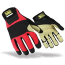 RINGERS GLOVES 355-11 Ringers Gloves - Rope Rescue Glove, Red, X-Large