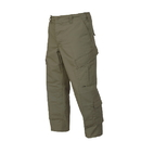 TRU-SPEC 1285025 Tru Trousers, Large, Long, Olive Drab, 65/35 Polyester Cotton Rip-Stop