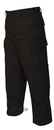 TRU-SPEC 1995009 Truspec - Zipper Fly Police Bdu Rip-Stop Pants, Black, Regular - Quadruple Extra Large (51