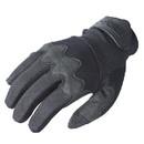 VOODOO TACTICAL 20-9077001093 The Edge Voodoo Shooter'S Gloves, Black, Medium