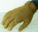 VOODOO TACTICAL 20-9120007093 Crossfire Gloves, Coyote, Medium