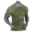 Voodoo Tactical 20-996704096 Subdued Skull T-Shirt, Od Green, X-Large