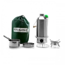 Kelly Kettle 50045 Stainless Steel-Large - Complete Kit